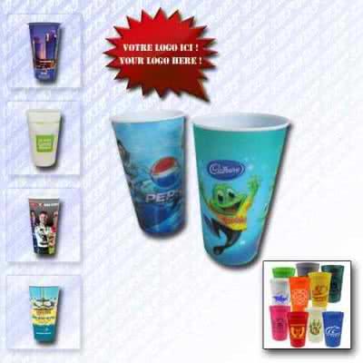 Gobelet en plastique souvenir
