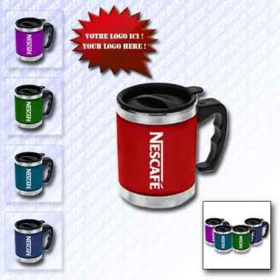 Mug 350 ml isotherme en inox
