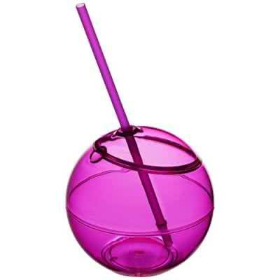 Ballon Fiesta avec paille