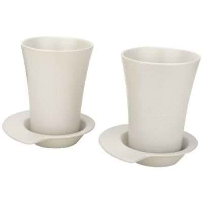 Set de 2 mugs en grès