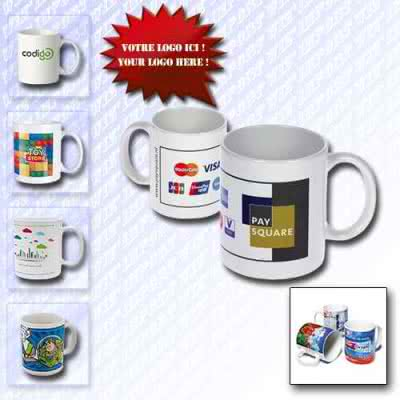 Mug 350 ml en porcelaine