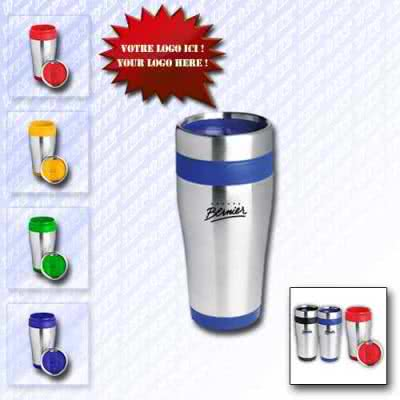 Mug 450 ml en inox design gobelet